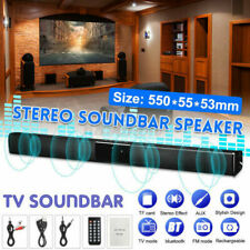 New ListingBluetooth Wireless Tv Soundbar 4Speaker 3D Sound Bar Home Theater Subwoofer Rca
