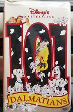 Disney's Masterpiece 101 Dalmatians 1996 VHS Walt Disney