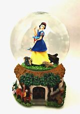Disney Musical Snowglobe Snow White Enesco Snowdome Listen To The Mockingbird