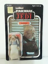 Vintage star wars squid head return of the Jedi 1983 77 back sealed carded