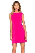 Kate Spade Stretch Crepe A Line Dress Sweetheart Pink Size 8