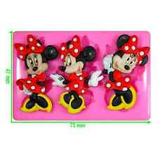 Disney Minnie Mouse Silicone Mould by Fairie Blessings