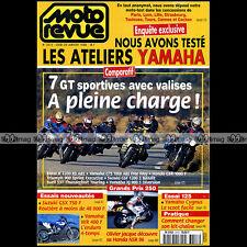 MOTO REVUE N°3313 BUELL S3 BMW K1200 RS YAMAHA WRF 400 DAVID VUILLEMIN 1998