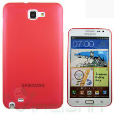 Custodia ultra sottile 0,3mm per Samsung Galaxy Note 1 N7000 i9220 ROSSA cover