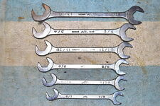 MAC DAxx-series ANGLE OPEN END WRENCH 6 pcs 1/2 - 13/16 QUALITY VNTAGE USA TOOLS