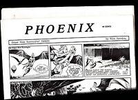 Phoenix Comic Strip Reprints Paper Tarzan (1970s) Russ Manning