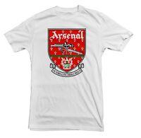 Arsenal Retro 90 Soccer Shirt