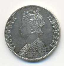 India British Empress Victoria Silver 1 Rupee 1901 B C/I Bombay VF