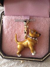 BRAND NEW! JUICY COUTURE CHIHUAHUA PET DOG BRACELET CHARM IN TAGGED BOX