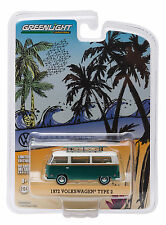 1/64 GreenLight  VW Volkswagen T2 Panel Bus 1972 with surf board