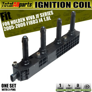 Ignition Coil Cassette for Holden Viva JF Series 2005 2006-2009 1.8L F18D3 Front