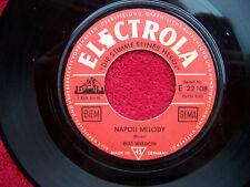 Bert Weedon - Napoli melody / I Barimar´s - Walking    German Electrola 45