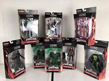 Marvel Legends Lizard baf Wave Set; Sealed, Extra Mysterio, Lasher, Spidy Noir