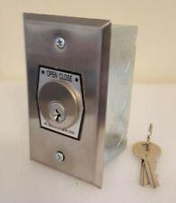 Open-Close Key Switch Garage Door Opener,Control Key,S Steel plate cilinder Key