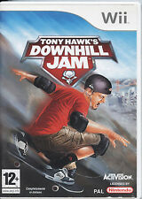 TONY HAWK'S DOWNHILL JAM NINTENDO WII-WIIU NUOVO INTROVABILE!
