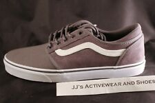 NIB VANS CORDOVA (Suede Canvas) Tornado Grey White Skate Shoes SZ Men's 11
