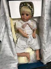 Susan Lippl Porzellan Puppe 73 cm. Top Zustand