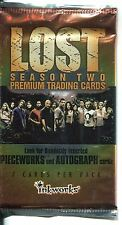 Lost Season 2 Factory Sealed Hobby Packet / Pack