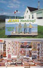 Jean's Handicraft Hooked Rugs PETIT ETANG Inverness Nova Scotia Canada Postcard