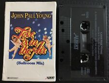 Love Is In The Air ~ JOHN PAUL YOUNG Cassette Tape Single CARD SLEEVE