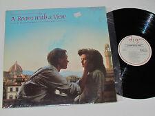 A ROOM WITH A VIEW Movie Soundtrack LP 1986 Richard Robbins Kiri Te Kanawa VG+