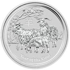 Lunar Series 2 Year of the Goat 1oz 2015 Perth Mint Australia