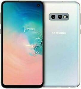 Samsung Galaxy S10e 128GB DS Blanc état correct Utilisé Reconditionné A.A202