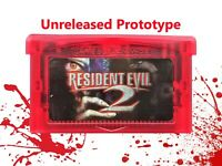 Resident Evil 2 Prototype Tech Demo Game Boy Advance GBA Unreleased (USA Seller)