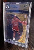 1998-99 TOPPS FINEST Michael Jordan/Kobe Bryant M1 Mystery BGS 9.5 GEM MINT🔥