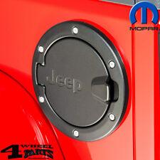 Tankblende Tankdeckel Tankklappe Alu Jeep Logo Mopar Wrangler JK Unlimited 07-18