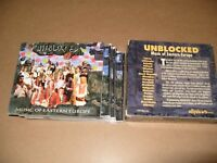 Unblocked Music Of Eastern Europe 3 cd Box Set 1997 cds are Nr/M+/Inlays Ex