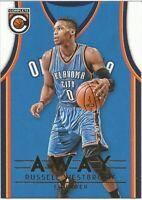 Russell Westbrook Away Panini Complete 2016/17 NBA Basketball Card
