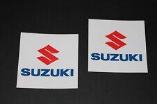 Suzuki Aufkleber Sticker Decal Bapperl Kleber Autocollant Logo Schrifzug Moto GP