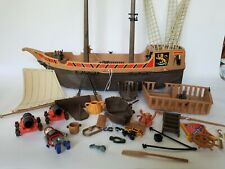 Playmobil Pirate Ship 1978 Pieces and Parts Incomplete Vintage