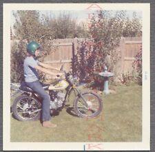 Vintage 1972 Photo Suzuki Motocross Motorcycle Dirt Bike 688907