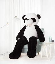 XXL Ours en Peluche Ourson Animaux Plüshtier Tissu Panda 200 CM