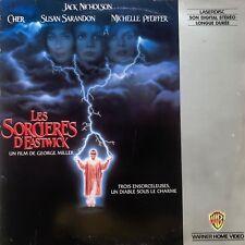 LASERDISC - LES SORCIERES D'EASTWICK - VF PAL - Jack Nicholson, Cher,