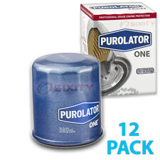 12 Pack Purolator ONE PL14612 Engine Oil Filter - 12x Long Life si