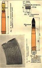 SOVIET-GERMAN COLOR gun SHELL,CARTRIDGE AMMUNITION ID MANUAL CD 1942   WW2   2