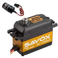 Savox SC-1268SG High Torque Steel Gear Digital Servo + Glitch Buster