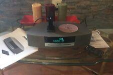 Bose Wave Music System Titanium Silver Series Il W/Bluetooth Adaptor Bose Sound