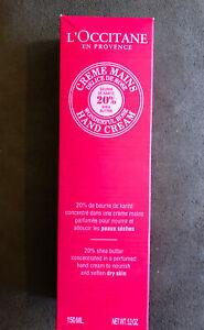 L'Occitane Wonderful Rose 20% Shea Butter Hand Cream 150ml - BRAND NEW IN BOX