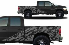 Custom Vinyl Decal NIGHTMARE Wrap Kit for Dodge Ram Pickup 1500/2500 02-08 Gray