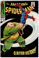 Amazing Spider-Man #60 FN/VF 7.0  2nd Kingpin cover