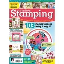 CREATIVE STAMPING MAGAZINE ISSUE 51 FREE A4 BEE HAPPY VINTAGE SPRINGTIME STAMPS