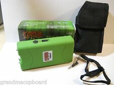 Zombie Toxic Waste Green 10 Million Volt Ultra Compact Rechargeable Stun Gun LED