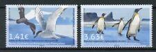 FSAT TSAF 2017 MNH Birds JIS Greenland 2v Set Petrels Terns Penguins Stamps