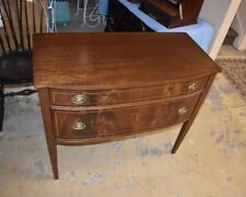 Vintage Mahogany Dining Room Server with Pencil Inlay, Buffet