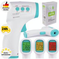 Fieberthermometer Stirnthermometer Infrarot LCD Kontaktlos Stirn Ohr Digital