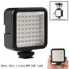 W49 Mini 6000K Camera LED Light Flash Light Fill Lamp Adjustable For Nikon Sony